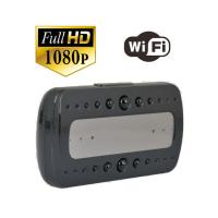 Buy cheap P2P Wifi Wireless Clock Spy Camera, Hidden Video Camera ,1080P IR Super Night Vision YM-W001 from wholesalers