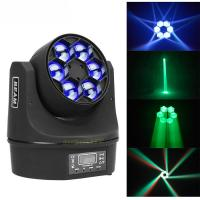 Buy cheap MINI Led Moving Head Light 6x10w RGBW Bee Eyes 4 In1 Party Dj Disco Effect from wholesalers