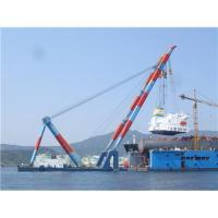 Buy cheap Ireland,Israel,Italy floating crane sell charter supply crane barge 100T TO product