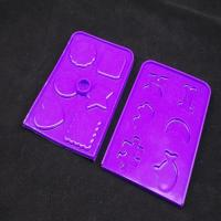 Buy cheap OEM / ODM customed design colorful silicone square insulation pad silicone rubber pad, -40 to 230 degree from wholesalers
