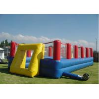 Buy cheap Inflatable Sport Football Playground, Inflatable Soccer Field, Football Field Equipment from wholesalers