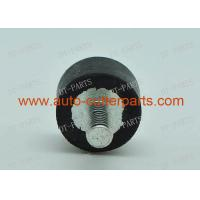 Buy cheap Black Metal Cylindrical Bumper M D16x10 M Vector 5000 Cutter Part , Textile Machinery Spare Parts from wholesalers