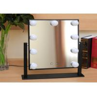 Buy cheap 360° Moving professional Led Bulb Mirror , high definition led beauty mirror from wholesalers