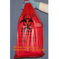 Buy cheap Clinical supplies, biohazard,Specimen bags, autoclavable bags, sacks, Cytotoxic Waste Bags from wholesalers