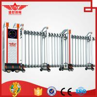 Buy cheap Foldable gate home retractable aluminum fencing  gate L1522 from wholesalers