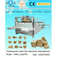 Corrugated Paper Carton Folding Machine CE With Electric Control System