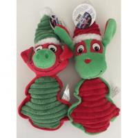 Buy cheap Funny Interactive Stuffed Animal Christmas Tree Ornaments Squeakers Chewer product