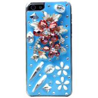 Buy cheap Bling Crystal Encrusted Diamond Customized 3D Phone Cases for iPhone 4/4S/5 from wholesalers
