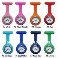 China 2013 NEW Silicone Nurse Watch with Alloy Pin, Slicone Wristband Watch with Resistant Materals on sale