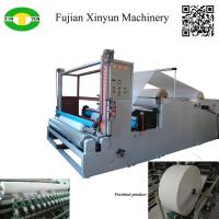 Buy cheap High speed jumbo roll paper slitting and rewinding machine factory from wholesalers
