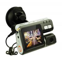 Buy cheap 1.3 Megapixel 720P HD / VGA Dual Channel Car Camera Night Vision Black Box For Car from wholesalers