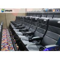 Buy cheap Metal Screen Modern Interactive 4D Movie Theater With Chair Effects Vibration Seats product