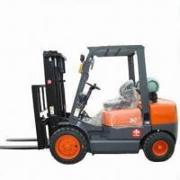 Buy cheap 3.0T Gas Forklift with Dual Fuel System and IMPCO Fuel Converter product