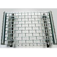 Buy cheap Sturdy Structure Crimped Stainless Steel Woven Wire Mesh for Quarry Screen from wholesalers