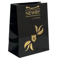 Buy cheap Personalized Luxury Kraft Paper Gift Merchandise Bags Black Color, Gloss Lamination OEM from wholesalers
