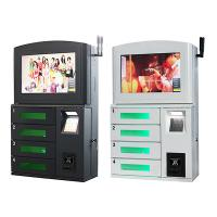 Buy cheap Wall Mounted Bill Payment Cell Phone Charging Kiosks 24 Hours Self - Service Terminals from wholesalers