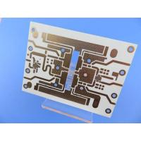 Buy cheap Hybrid Printed Circuit Board Mixed Material PCB On 10mil RO4350B + FR4 from wholesalers