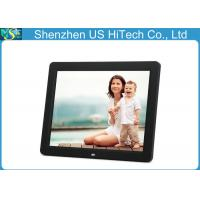 Buy cheap 12 Inch HD Stand Alone / Wall Hanging Portable Digital Photo Frame MP3 AAC WMA from wholesalers