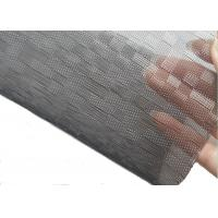 Buy cheap Coustom Black & White square Pattern Architectural Glass Laminated Mesh Fabric from wholesalers