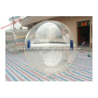 Buy cheap Large Adult Inflatable Water Walking Ball , Human Sized Hamster Ball Rental from wholesalers