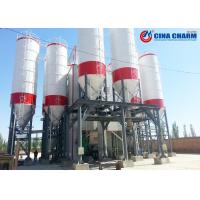 Buy cheap 3260mm Diameter Concrete Cement Silo For Concrete Batching Plant Q235 Steel Material from wholesalers