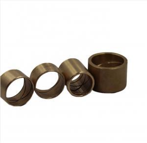 China Powder Metallurgy Sintered Brass Bush Bearing on sale