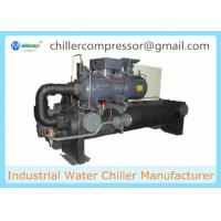 Buy cheap 100 Tons Screw Compressor Water Cooled Chiller for Cooling Machines from wholesalers