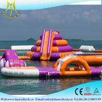 Buy cheap Hansel commercial inflatable kids water park sport game from wholesalers