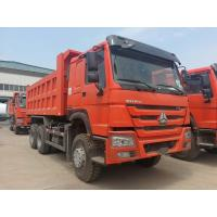 Buy cheap Middle Lifting Type Heavy Duty Dump Truck Cargo Size 5200 X 2300 X 1350 Mm from wholesalers