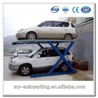 Buy cheap Simple Scissors Car Parking Lift for 2 Vehicles from wholesalers