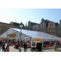 Buy cheap Deluxe Sturdy Flame Resistant Outdoor Canopy Tent Self - Supporting 15x20m from wholesalers