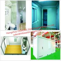 Buy cheap Portable Prefab Container Homes With Interior Decorations  Bedroom/Bathroom/Kitchen/Washbasin from wholesalers