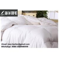 Buy cheap 100% Cotton Washed White goose feather and down duvet from wholesalers
