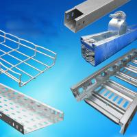 Buy cheap CT-600 Ladder Type Perforated Cable Tray Roll Forming Machine, Cable Tray Production Line(width:50mm-1200mm) from wholesalers