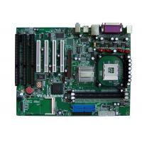 Buy cheap 4 PCI , 3 ISA Slot mainboard Support Intel Pentium4 / Celeron Socket 478 Processor product
