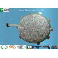 Buy cheap Round Green Insulate PET Flex Circuit 0.125 Mm Silver Paste Print For Sports Electronic Dart from wholesalers
