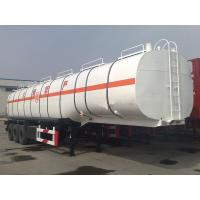 Buy cheap CIMC Industrial Aluminum 3 Axles Fuel Tanker Truck Trailer from wholesalers