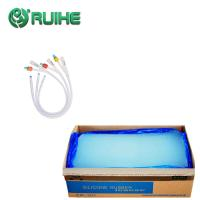Buy cheap Extrusion Medical Grade Silicone Rubber Non Toxic Forced Through Shaped Die product
