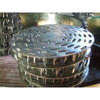 Buy cheap 50mm Diameter Anti Split Plates , Hot Galvanized Steel Truss Nail Plates from wholesalers