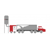 Buy cheap ISO 9001 40FT SS316 Container Bulk Loading System from wholesalers