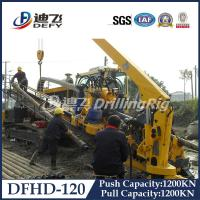 Buy cheap Cheap Price 120T Feeding Capacity soil/rock HDD drilling rig DFHD-120 Mounted on Crawler from wholesalers