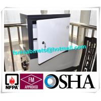 Buy cheap Small Steel Anti Magnetic Cabinets , Fire Resistant File Cabinet 2 Drawer product