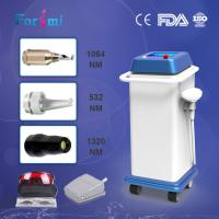 Buy cheap Professional CD FDA approved 1064nm 800w input power long pulse nd yag laser hair removal machine for sale from wholesalers