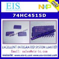 Buy cheap 74HC4515D - NXP - 4-to-16 line decoder/demultiplexer with input latches; inverting - Email from wholesalers