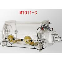 Buy cheap Transparent Table Top Lab Glove Box Portable Glove Box System 800*550*600mm Size from wholesalers