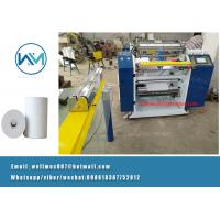 Buy cheap 1ply Coreless or with core type ATM POS Fax thermal Paper roll Slitting Machine from wholesalers