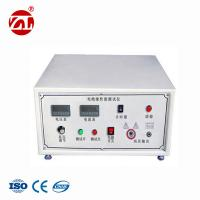 Buy cheap GB 12011-2009 Leather Testing Machine / Safety Shoes Sole Electric Resistance Testing Instrument from wholesalers