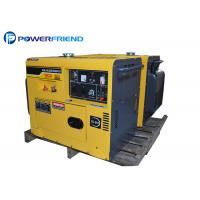 Buy cheap 190A Diesel Welder Generator Electric Start With Wheels / Handle from wholesalers