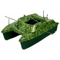 Buy cheap 500m remote range catamaran sea fishing bait boat , remote control bait boat from wholesalers