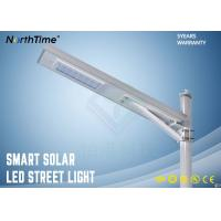 Buy cheap 2200lm 20W IP65 Motion Sensor Solar Powered LED Street Lights For Village / Campus from wholesalers